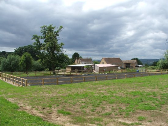 All weather horse arena, HBO Construction